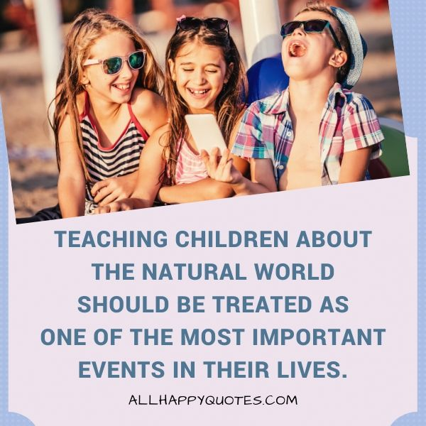 nature quotes for kids