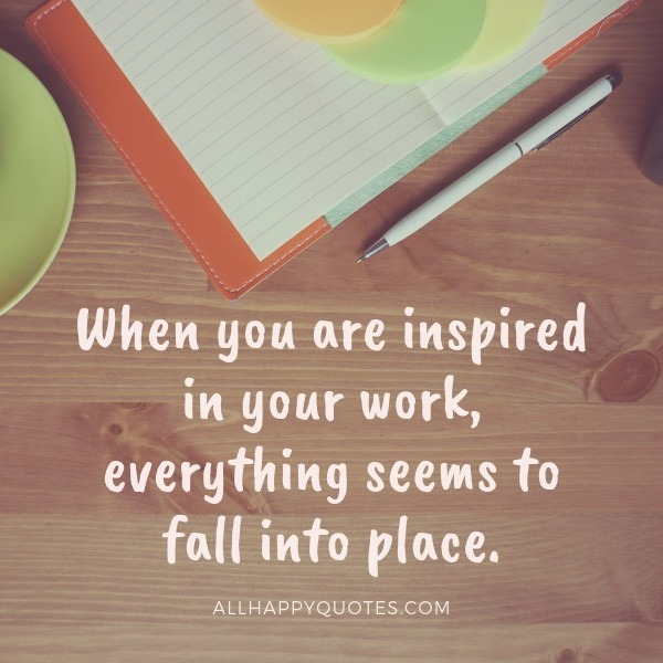 Short Positive Quotes For Work