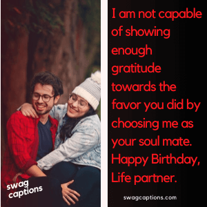 Birthday Captions For Wife