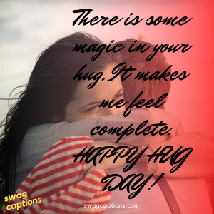 Happy Hug Day Captions