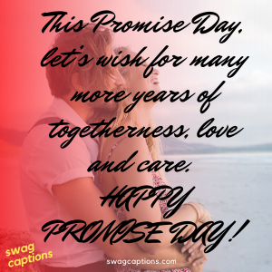 Happy Promise Day Captions