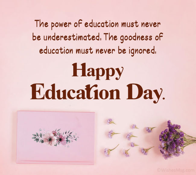 Education Day Quotes