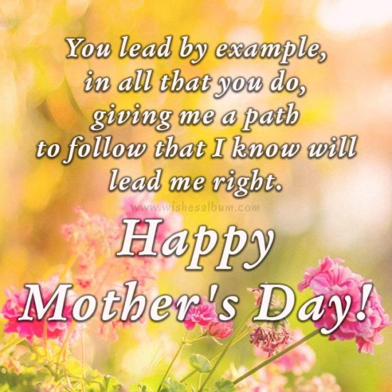 Happy Mother's Day! - Mother's day messages