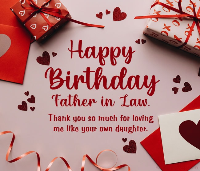 Birthday Wishes From Daughter in Law