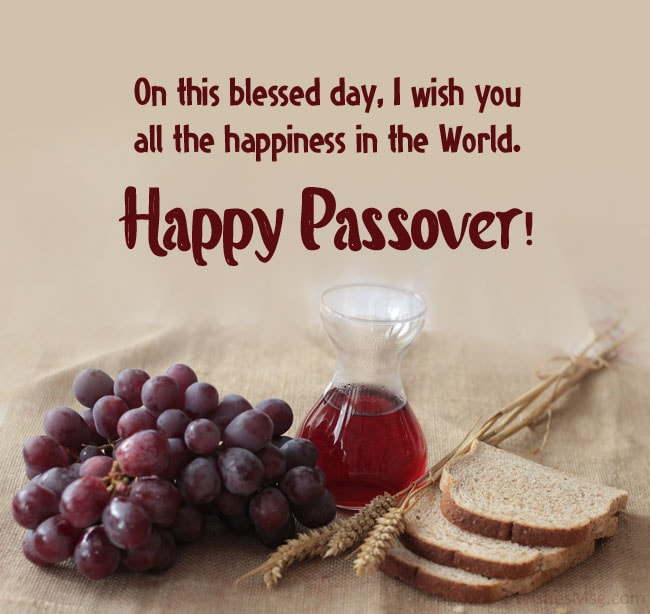 passover greeting for cards