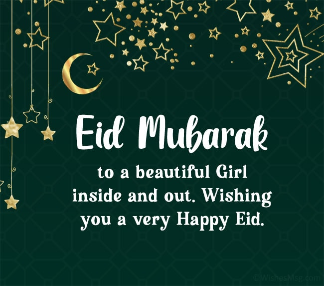Eid Mubarak My Love Wishes for Her