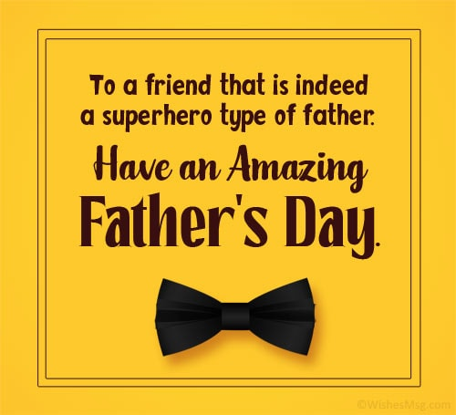 Funny Fathers Day Wishes for a Friend