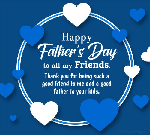 Happy Fathers Day Wishes for Friends