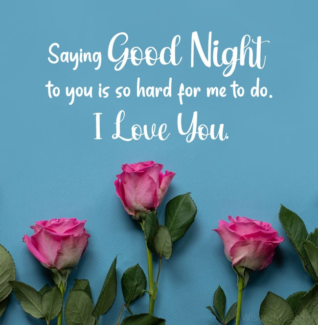 sweet things to say to your boyfriend at night