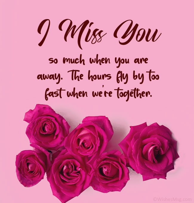 sweet things to say to your boyfriend when you miss him