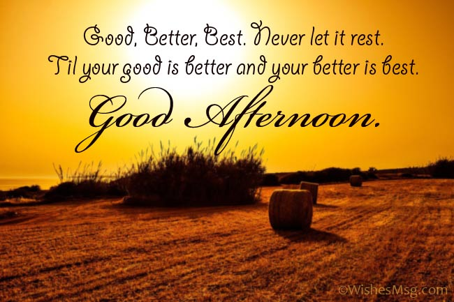 Inspiring Good Afternoon Wishes for Her