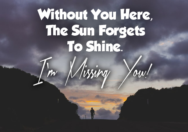 I'm Missing You Message for Best Friend